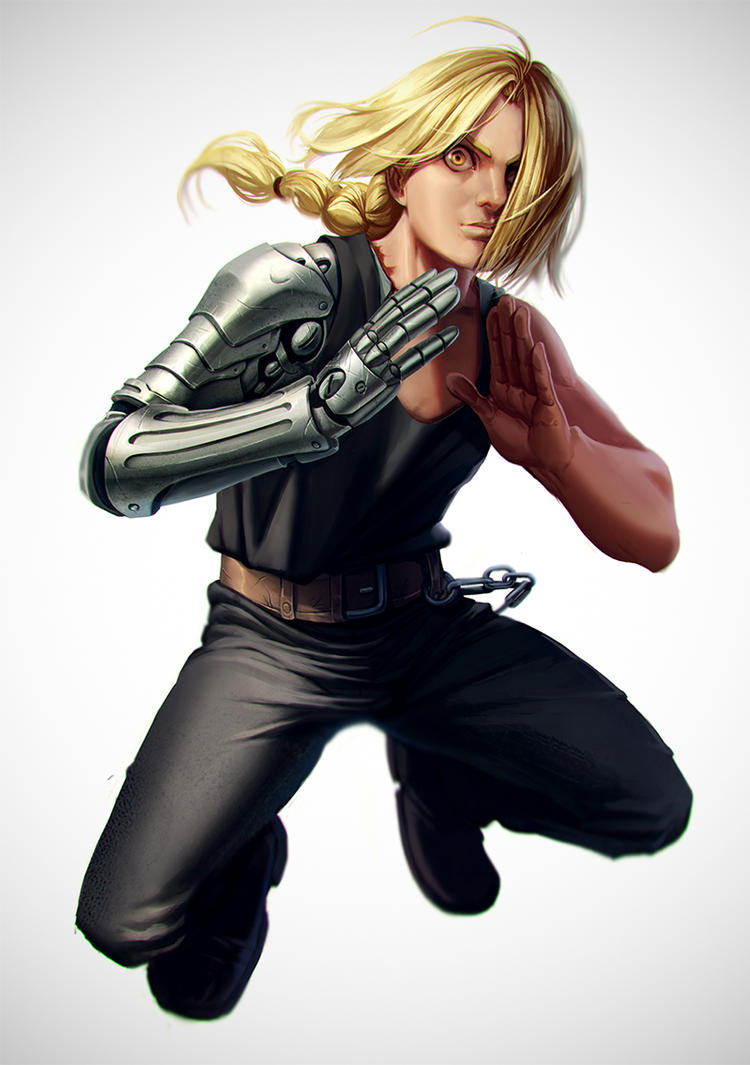 Edward Elric by mannequin-atelier