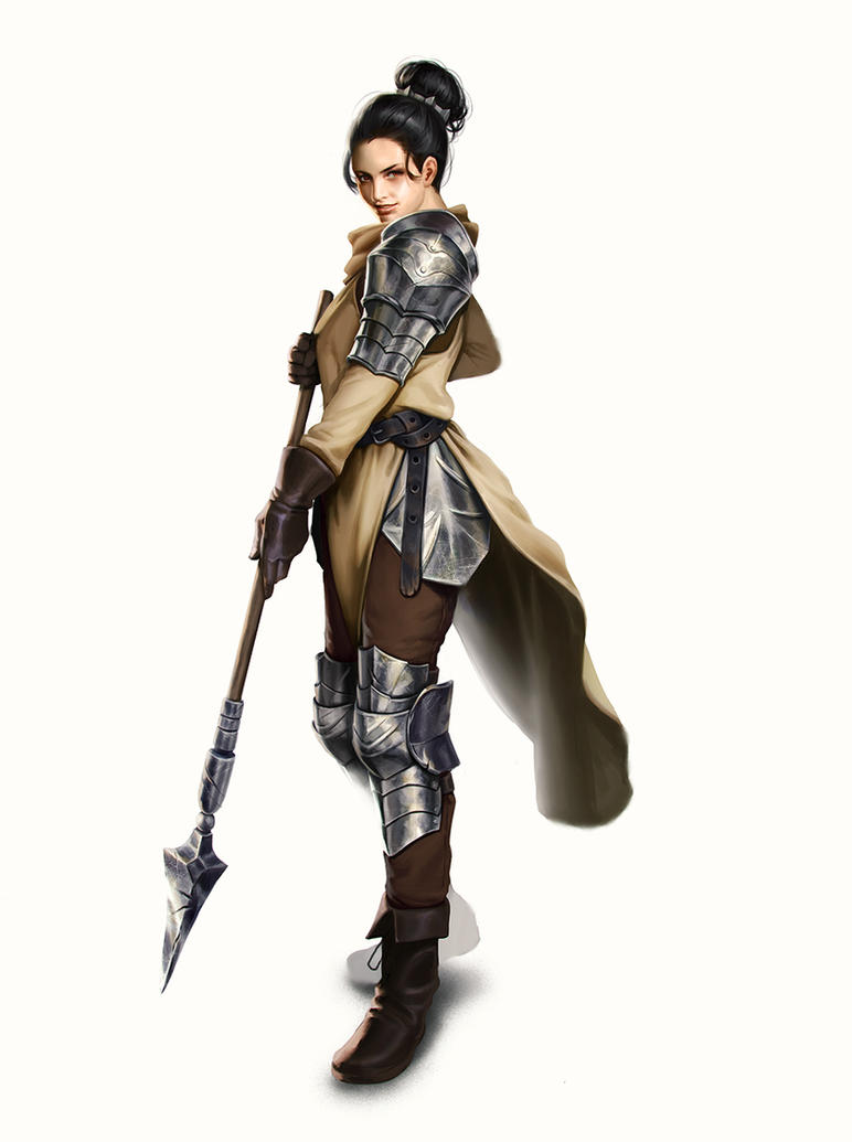 Lady knight by mannequin-atelier