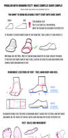 Some tips for feet