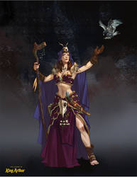 Morgan Le Fay by mannequin-atelier