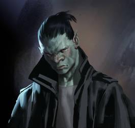 Gareth - my Shadowrun character