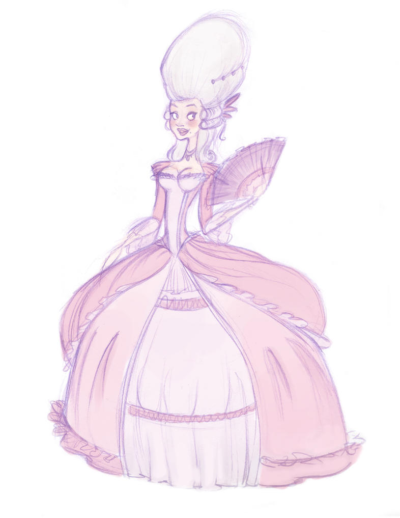 Rococo Sketch by MintS...