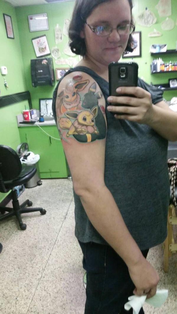 new tattoo!!! by ino-gintoki