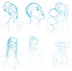 More Head sketches