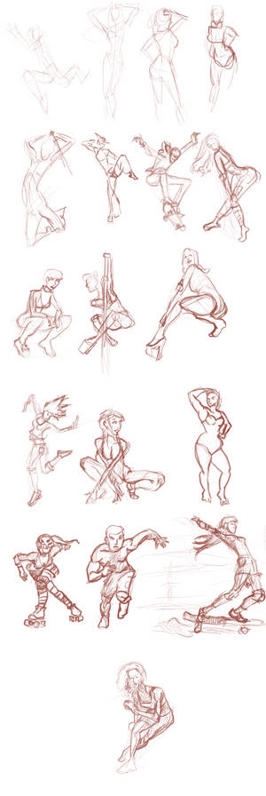 REIQ Gesture Drawing Session1