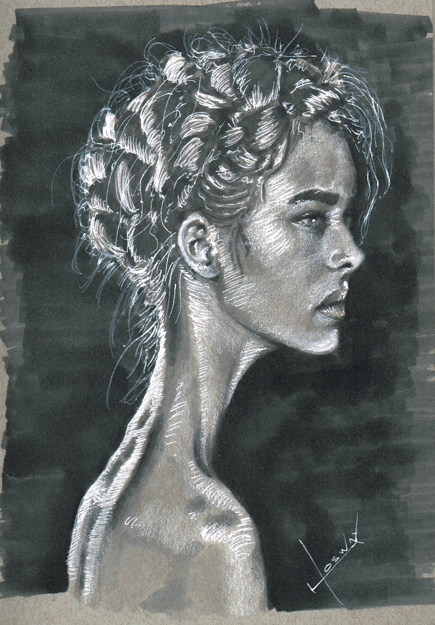 WomanInTheDark by JosueMariscal