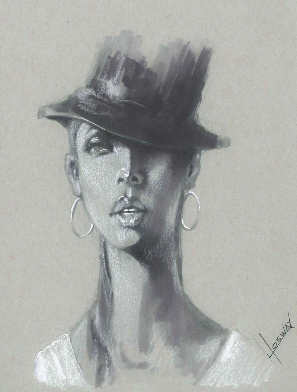 Woman Portrait by JosueMariscal