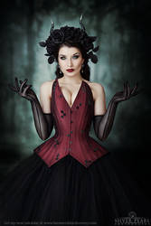 Gothic Queen by Silver-Pearl-Photo
