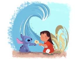 Lilo et Stitch by Orelly