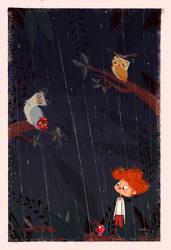 Rainy Night by Orelly