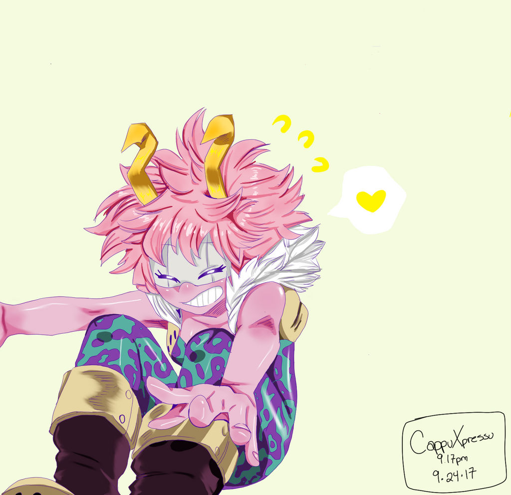 Ashido Mina By Cxppu On Deviantart