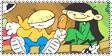 3 x 4 Stamp by XSilverXAnimeXGirlX