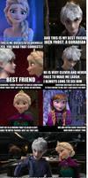 How Elsa met Jack Frost
