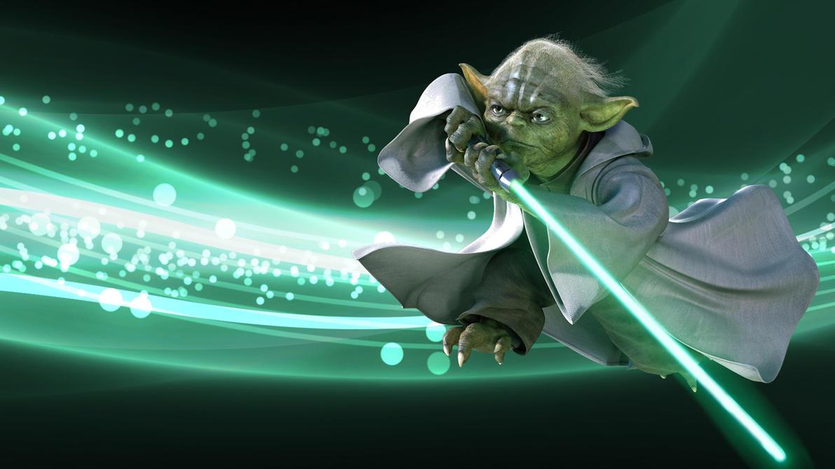 Yoda 1920x1080 version wallpaper star wars by blacklotusxx