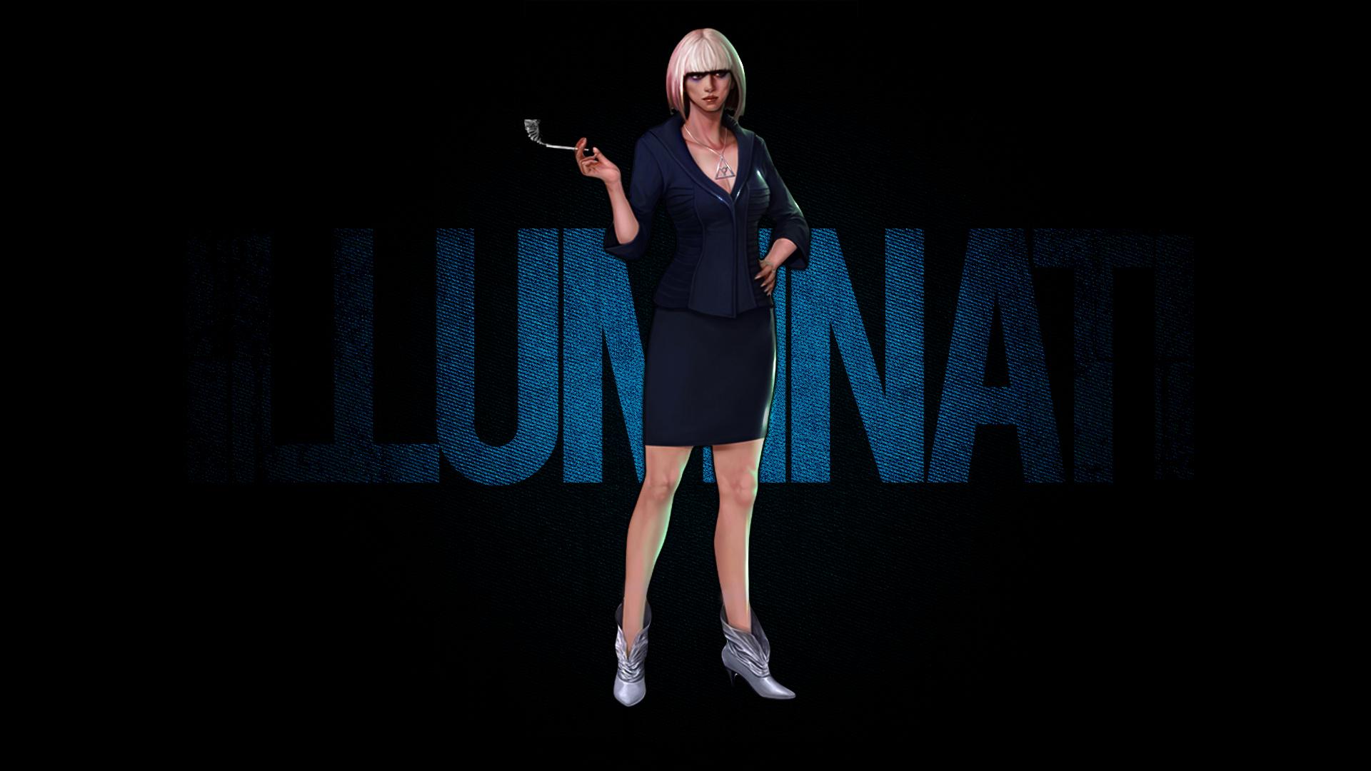 Illuminati Kristen Geary The Secret World Hd By Blacklotusxx