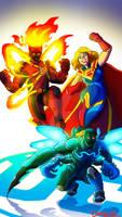 Injustice 2 New Justice League