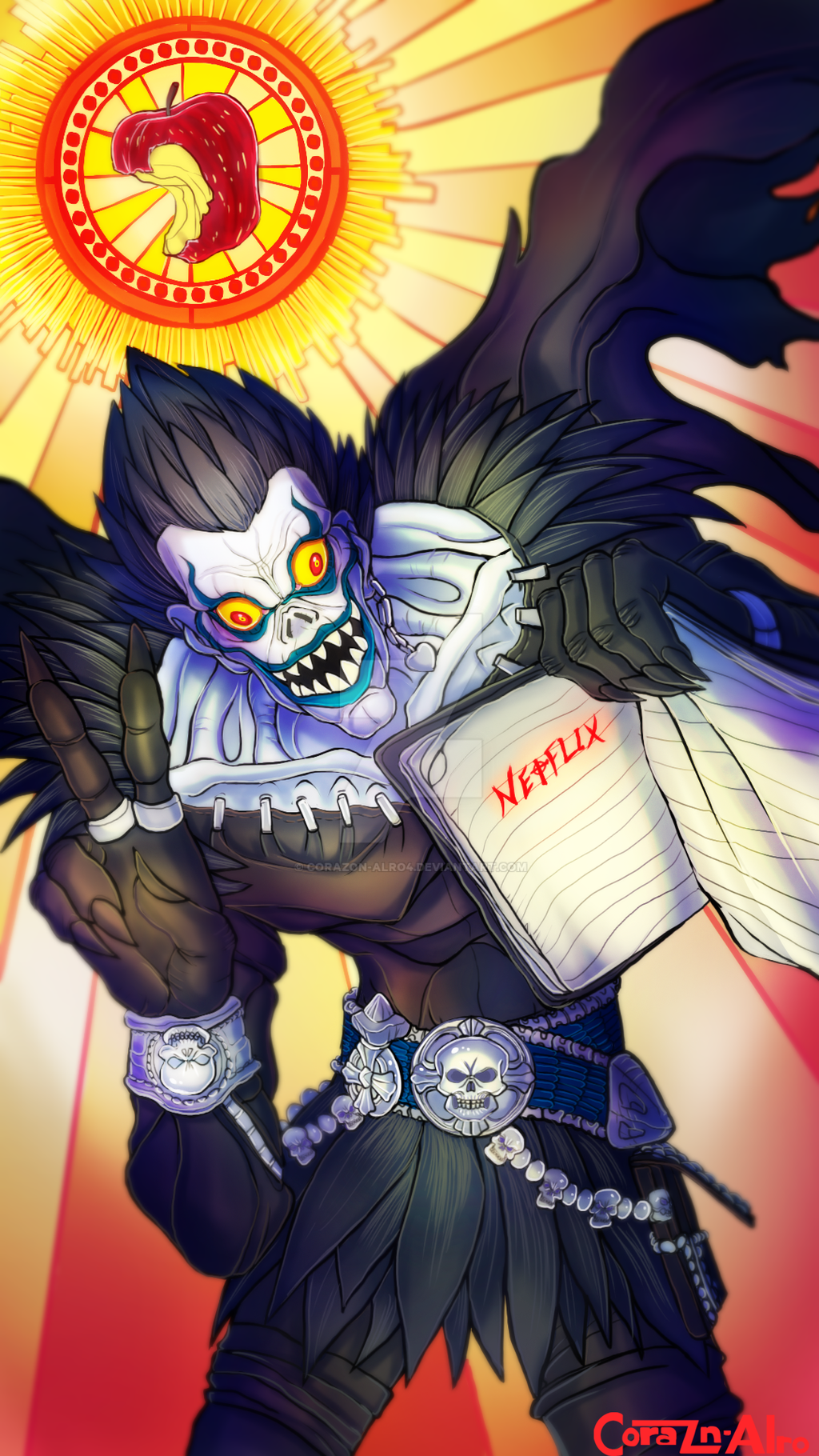 Death Note Ryuk by Corazon-Alro4 on DeviantArt