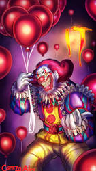 Pennywise the Dancing Clown by Corazon-Alro4