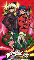 Ladybug and Chat Noir Redraw by Corazon-Alro4