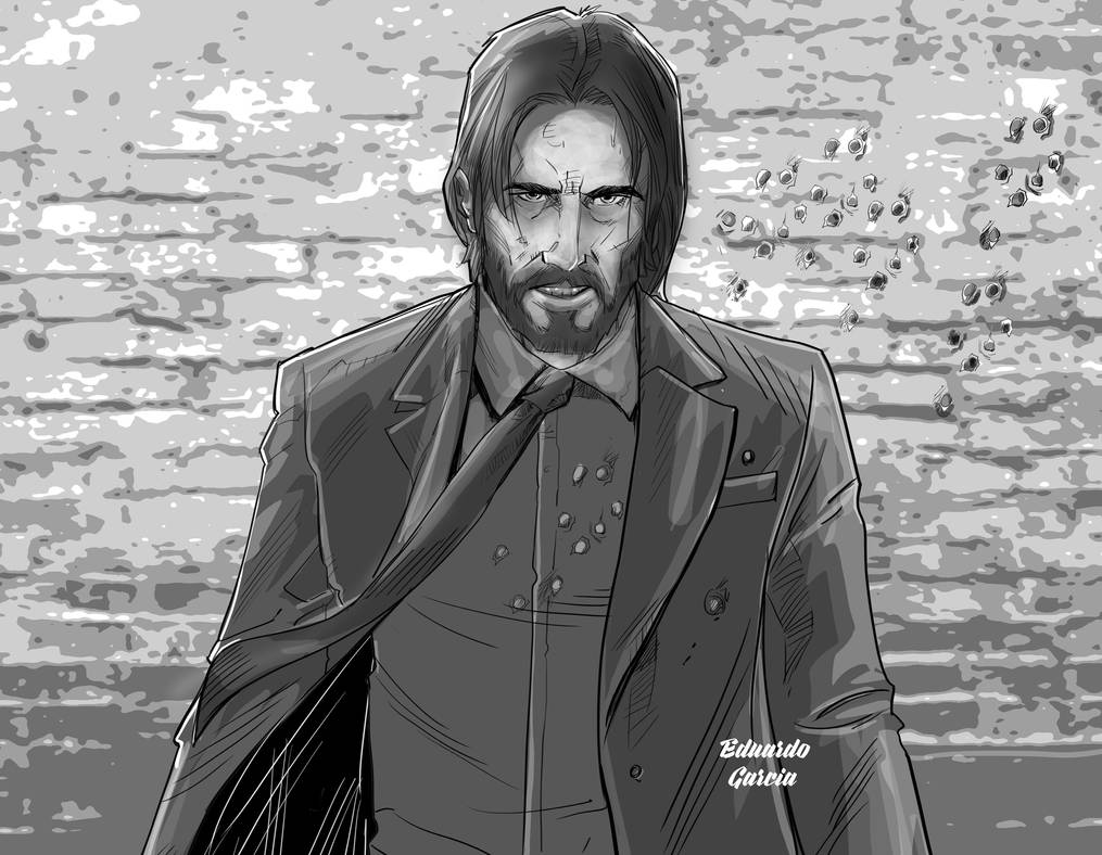 Johnwick by eduardogarciag