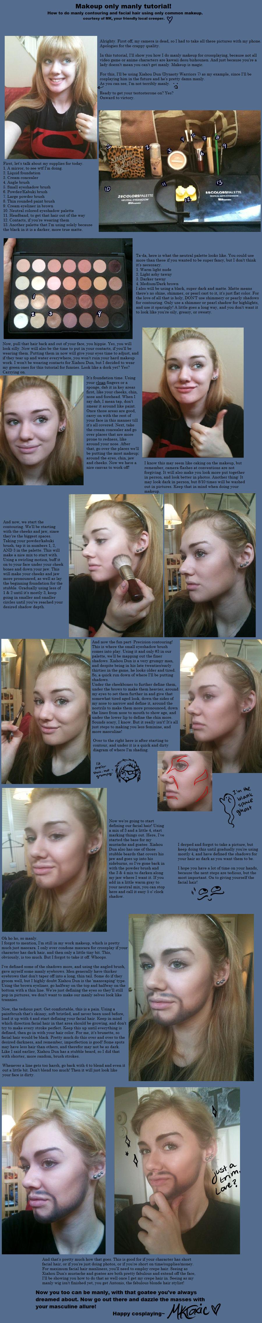 Manly Makeup tutorial