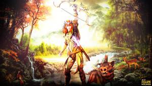 Smite - Artemis wallpaper