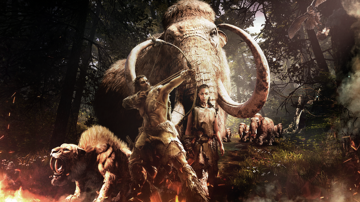 Far Cry Primal Artwork Video Games Wallpapers Hd: Far Cry Primal Wallpaper By FelipeAbreu On DeviantArt