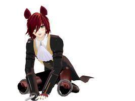 Foxy da puppyyyyyyyy by Liza-Lunashine