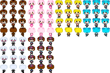 Fnaf 2 Map Character Set Xrpg Maker Vx Acex By Liza