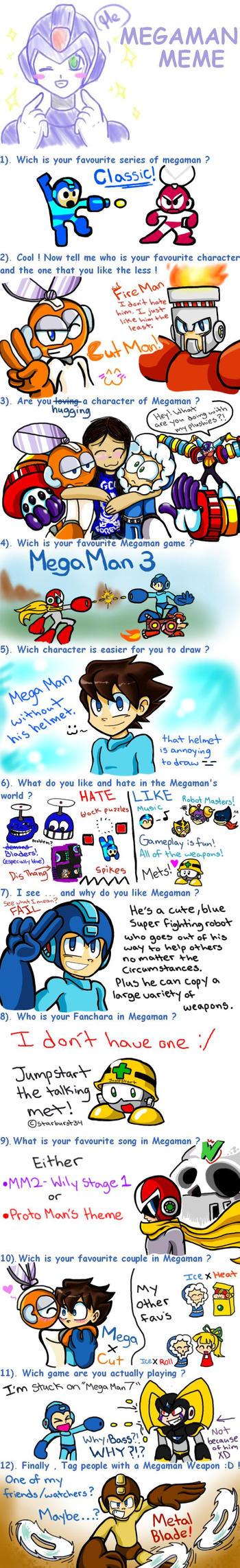 Mega Man Meme! by 8-Bit-Britt