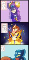 Tumblr Asks - Expressions 3 - Mega Man Edition by 8-Bit-Britt