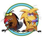 Angry Beavers by 8-Bit-Britt