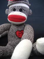 sock monkey by Maniac-ofMUSIC