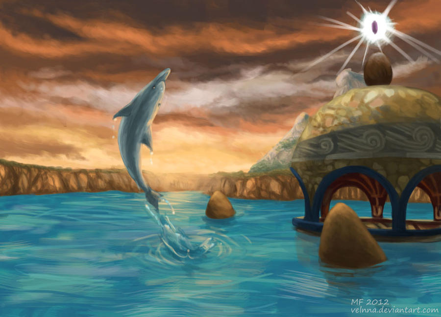 ECCO the Dolphin by Velnna