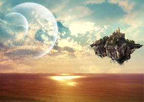 Last piece of earth by zerakiel