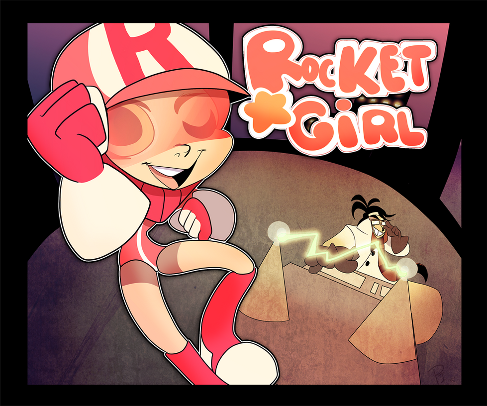 rocketgirl by Pharaoh-Ink