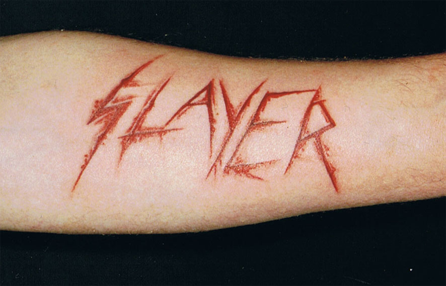 slayer tattoo by ralf amun on deviantart. Black Bedroom Furniture Sets. Home Design Ideas