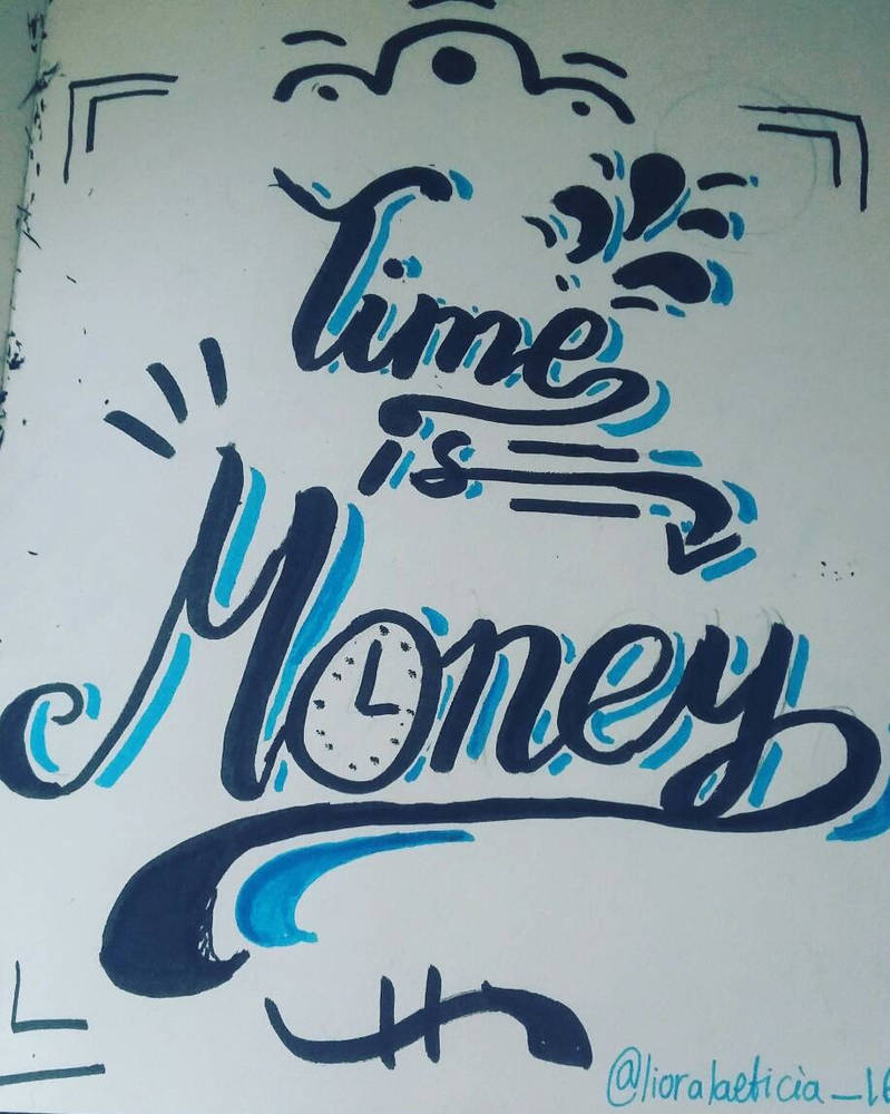 Inktober Day 14: Clock | TIME IS MONEY by LioraLaeticia16 on DeviantArt