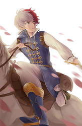 Prince Todoroki by aya-mei
