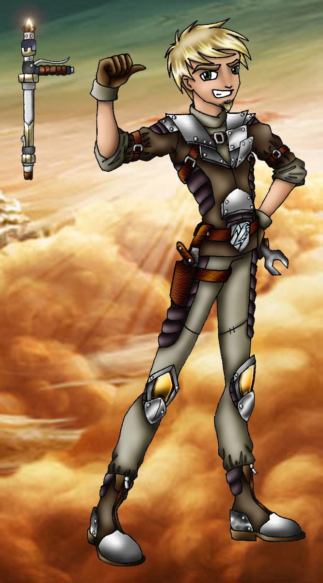 Storm Hawks OC: Gunner by =SaturnGrl on deviantART