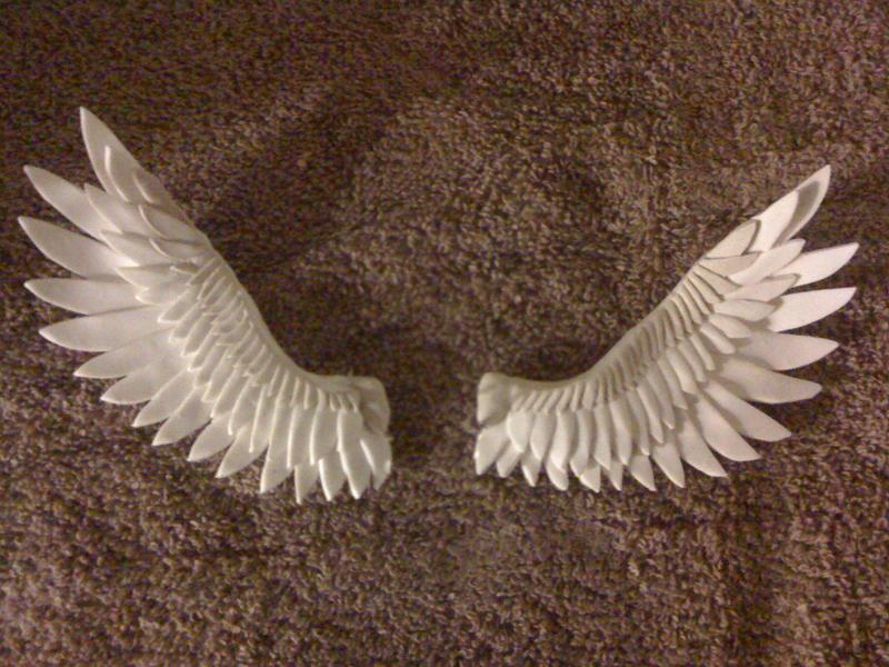 Sculpey Wings by SaturnGrl