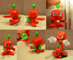 Sculpey: Knuckles Chao