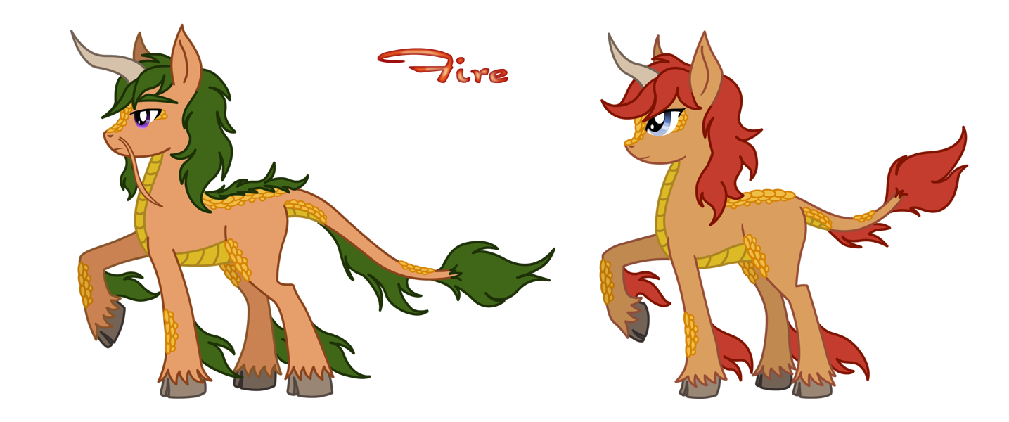 MLP FIM: Fire Qilin by SaturnGrl