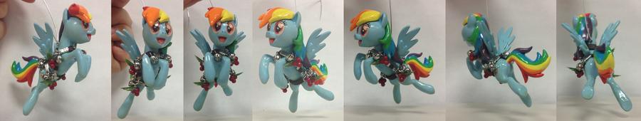Rainbow Dash Ornament by SaturnGrl