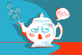 An Apathetic Teapot by Beowolfe03