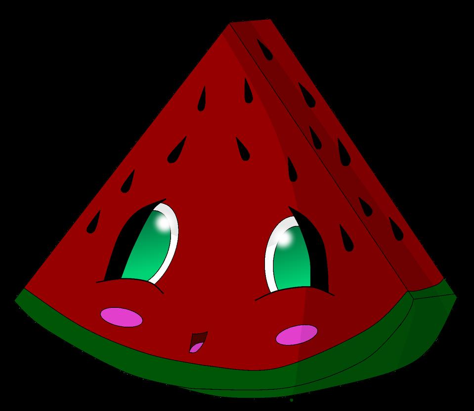 Cute Watermelon Clipart Cute watermelon by pea...