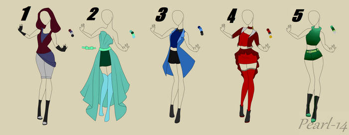 Outfit Auction (OPEN)