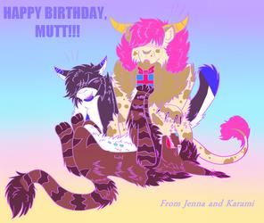 (Collab) Happy Birthday Mutt!