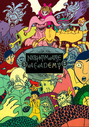 nightmare academy by blackcatdead