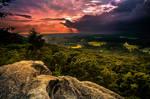 Sawnee Mountain Sunset